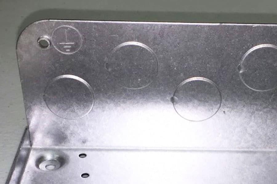 cnc punched parts